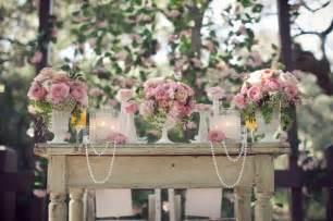 dekoration vintage vintage hochzeit deko perlen sorgen f 252 r romantik