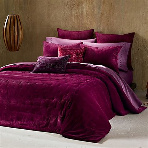 red coverlet the tallulah collection by kevin o brien cirrus coverlet