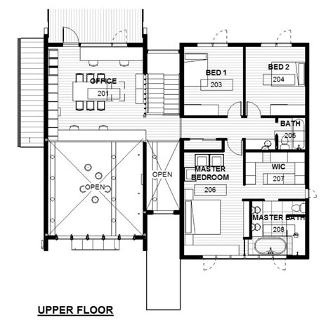 architectural floor plans green concept home modus v studio architects floor