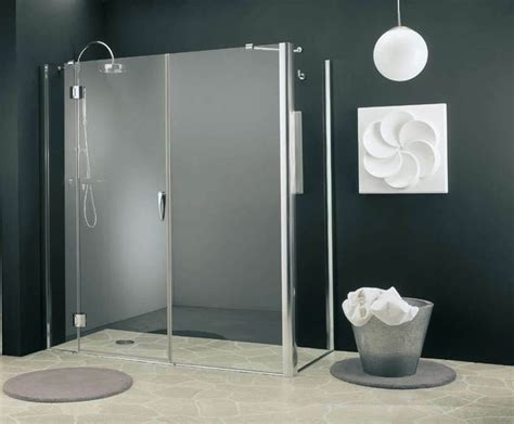box doccia piccoli doccia passante bagno come installare una doccia passante