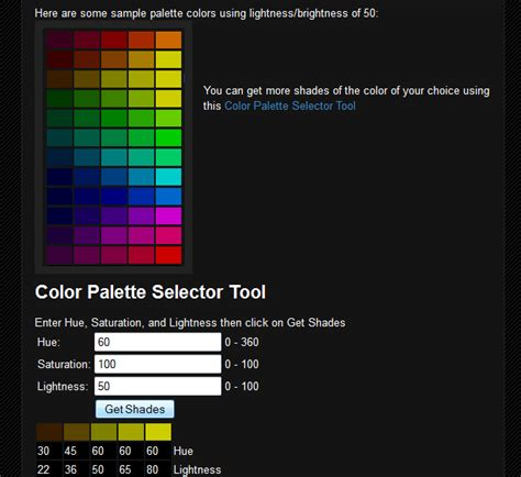 color scheme selector color palette selector tool by trandoductin on deviantart