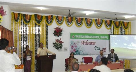 Vns College Mba Bhopal Madhya Pradesh 462001 by Vns Business School Vnsbs Bhopal Admissions