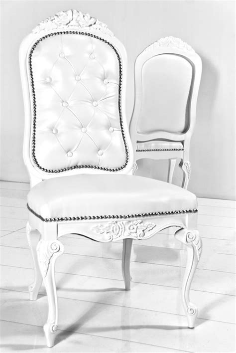white faux leather dining chair www roomservicestore monte carlo dining chair in
