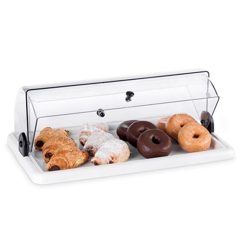 Countertop Pastry by Rectangular Acrylic Countertop Bakery Display