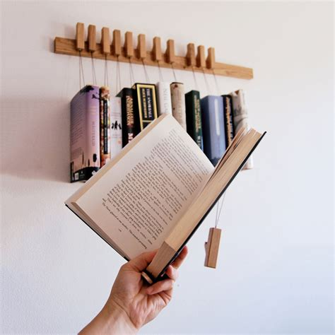 Book Rack For hanging book rack the green