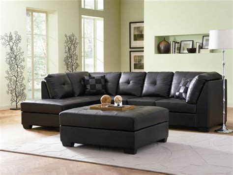 contemporary black leather couch a leather sleeper sofa convenience comfort and class