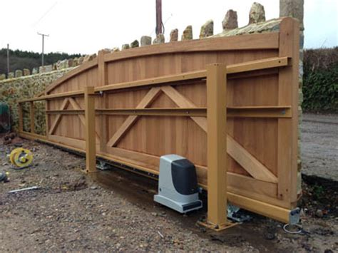 Westcountry Gates Wood Gates westcountry gates automatic electric sliding gates in