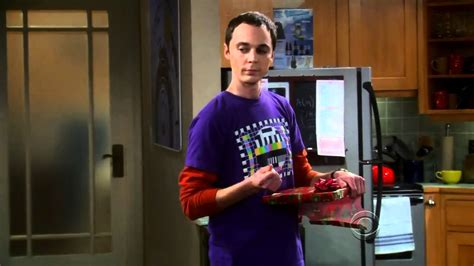 the big bang theory sheldon and penny exchange presents