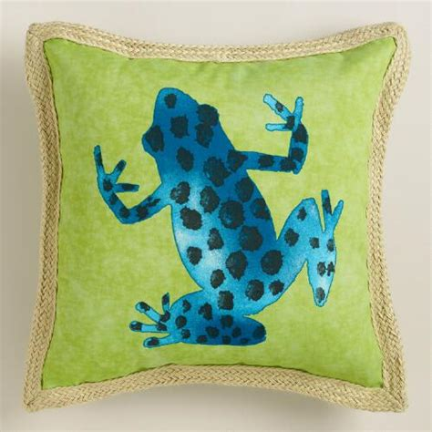 Frog Pillows by Spotted Frog Outdoor Throw Pillow World Market