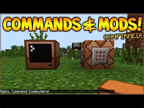 mcpe game console mod minecraft xbox 360 ps3 mcpe command blocks mods