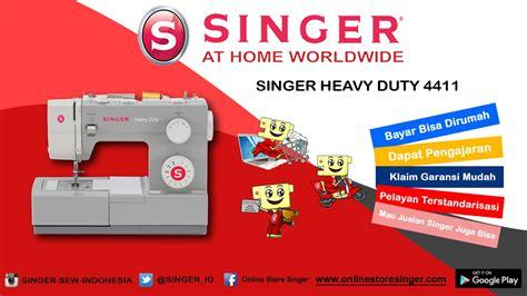 Mesin Jahit Singer Hd 4411 mesin jahit portable multifungsi singer 174 heavy duty 4411