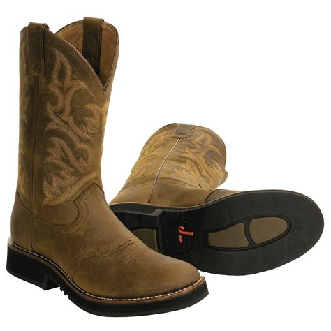 boot for justin boots ranchers series cowboy boots for 1895r