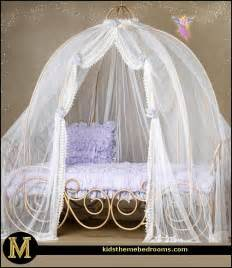 Princess Carriage Canopy Bed Themed Bedding For Adults Decorating Theme
