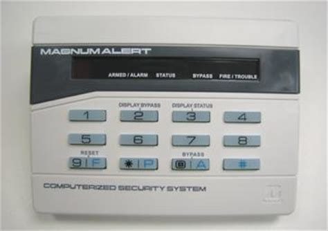 napco magnum alert home alarm systems on island