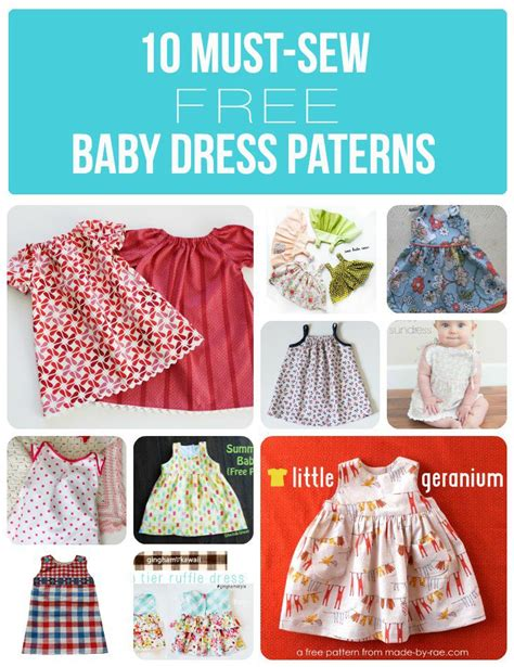 pattern baby girl clothes 10 must sew free baby dress patterns dress patterns