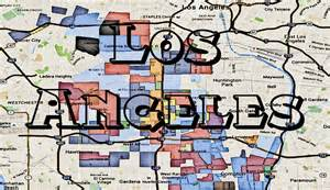 gangs in california map los angeles map