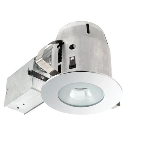 globe electric recessed lighting installation globe electric 4 in bathroom chrome recessed lighting kit