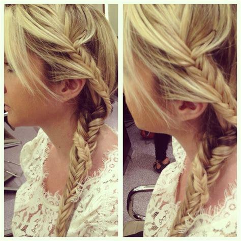 hairstyles john barrett hair do 2 fishtail braids wrapped around each other