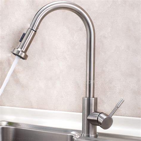 stainless steel pull out kitchen faucet designer pull out stainless steel best kitchen faucets
