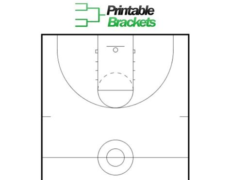 Basketball Key Template basketball court template basketball key template