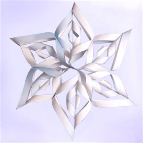3d paper snowflakes printable instructions snowflake crafts ballerinas and star wars charlotte