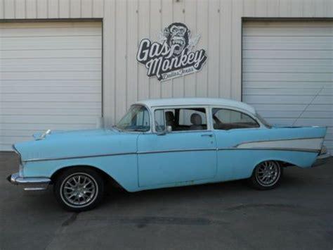 Gas Monkey Garage Bel Air by Find Used 1957 Chevrolet Bel Air 210 Hardtop No Reserve
