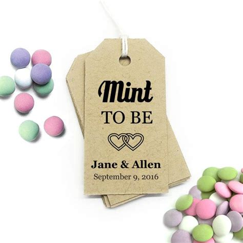 mint to be tag editable template small diy printable