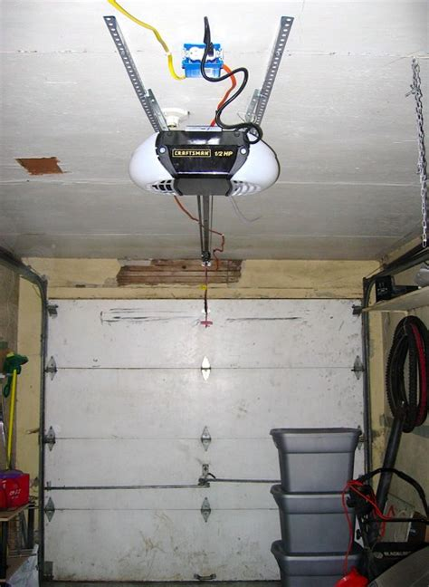 garage door opener installation images best furniture models