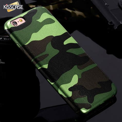 Army Iphone 7 7 Plus Softhard Leather Armorkuli Limited for iphone 7 5 5s se camouflage leather phone bag cases for iphone 7 7 plus