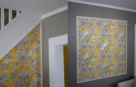 wallpaper edge molding in the little yellow house living room molding part 2