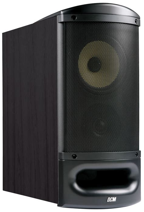 tfe60 b 6 5 quot dcm 6 ohm bookshelf speaker black mtx
