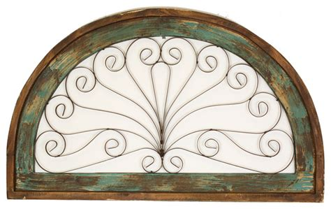 Half Moon Windows Decorating Half Moon Architectural Decor Rustic Windows By Mexican Imports