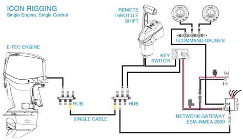 johnson outboard starter solenoid wiring diagram 48