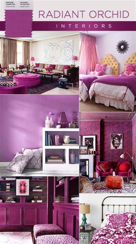 Radiant Orchid Home Decor A Z Home Decor Trend 2014 Radiant Orchid Real Houses Of The Bay Area