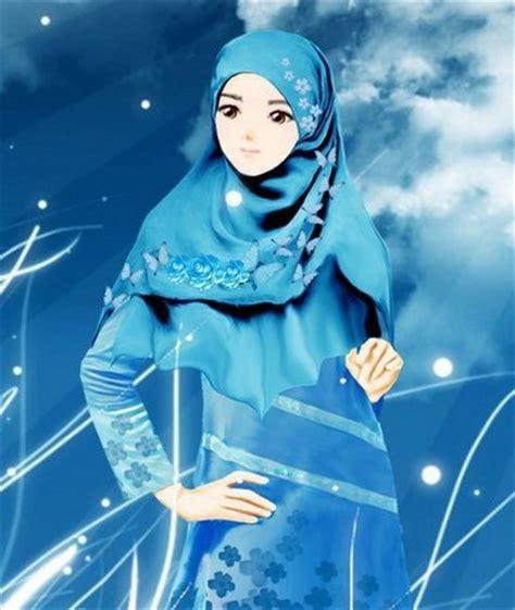 wallpaper wanita cantik bergerak gambar kartun muslimah berdo a bergerak comel kumpulan