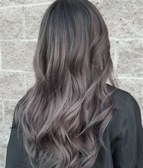 brown hair with grey highlights best 25 grey brown hair ideas on pinterest ash hair