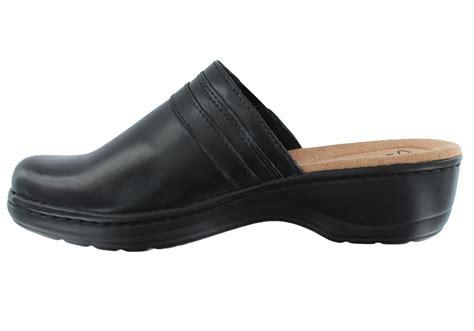 clarks clogs for womens clarks hayla marina clog black