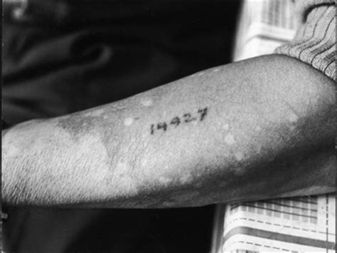tattoo numbers holocaust concentration c numbers holocaust tattoos pinterest