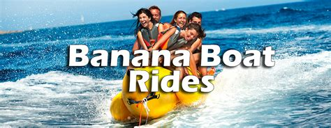 banana boat rides pcb fl sunshine watersports pc tours rentals pcb fl top 10