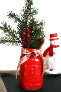 Silver Mercury Vase Mason Jar Christmas Centerpiece 16 Modern Easy Diy Ideas