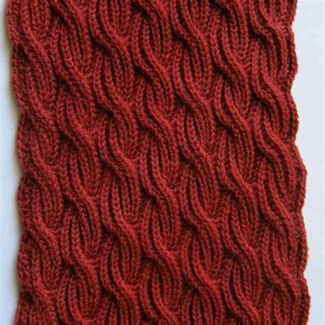stricken muster knit scarf pattern brioche cabled turtleneck scarf knitting