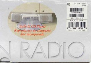 kitchen clock radio cabinet sony icf cdk50 cabinet kitchen cd player am fm clock radio on popscreen