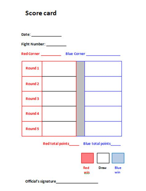 Gymnastics Judges Score Card Template by Livestock Judging Card Template Images