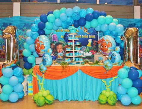 unique finding nemo decorations 14 finding nemo theme birthday quot nolan s 1st birthday