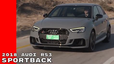 New Audi Rs3 2018 by 2018 Audi Rs3 Sportback Test Drive Interior Walk Around