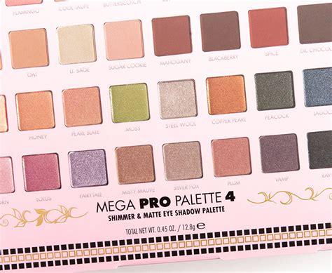 Lorac Mega Pro 4 Palette lorac mega pro 4 palette review photos swatches