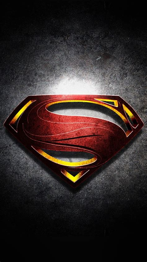 wallpaper iphone 6 hd superman superman logo with noise background wallpaper free