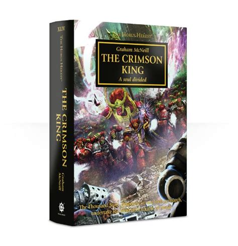 the crimson king the horus heresy books gw new releases june 3 quot pricing links quot bell of lost souls
