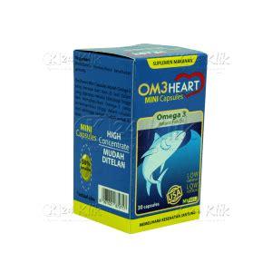 Om3heart Omega 3 Isi 30 Cap jual beli omeheart cap 30s btl om3heart k24klik