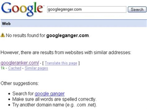 Gmail Search By Name Apogee Weblog Domain Name Search Hijacking By
